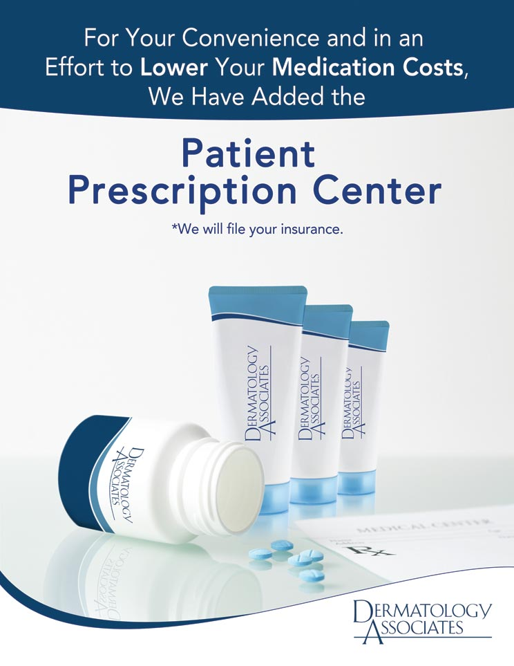 Dermatology Associates Patient Prescription Center