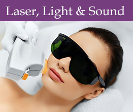 Dermatology Associates Cosmetic Centers provides Laser, Sound and Light Therapy